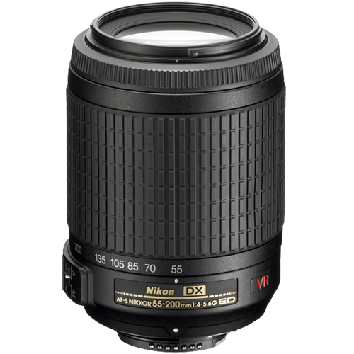 Nikon 55-200mm f/4-5.6G IF-ED VR