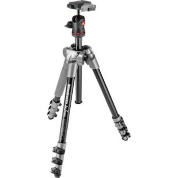 Manfrotto BeFree One Aluminium Travel Tripod with Head Grey