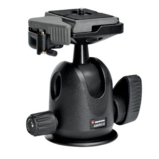 The Manfrotto 496RC2 Compact Ball Head is the tripod head for the professional photographer. The Compact Ball Head is ultra-light and compact enough to slip into your bag without weighing you down while delivering a full range of movement for complete control every single time.