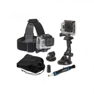Sunpak 5 Piece Action Camera Accessory Kit