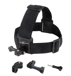 GoXtreme Head Strap Mount for Action Cams
