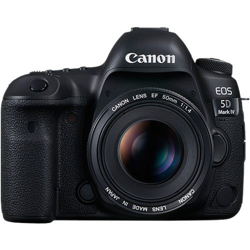 Canon EOS 5D IV Front