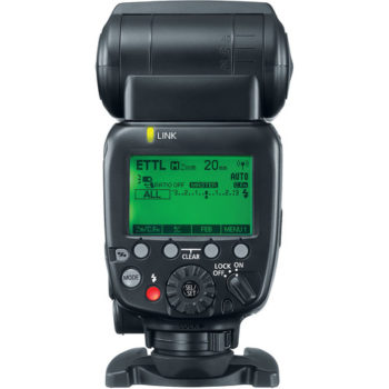 Canon Speedlite 600EX II-RT Rear