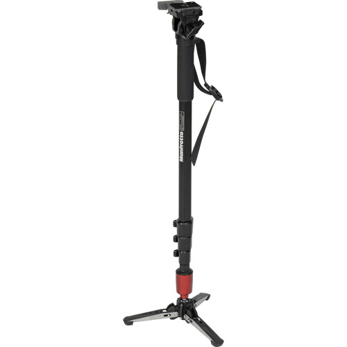 Manfrotto 560B-1 Fluid Video Monopod Kit