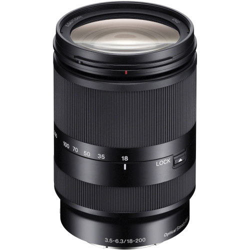 Sony SEL 18–200mm F3.5–6.3 OSS LE